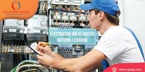 Electrician Job at United Nations, Lebanon