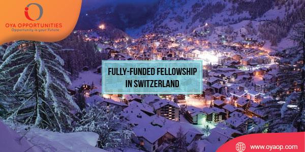 Fully-Funded Fellowship at University of Geneva, Switzerland