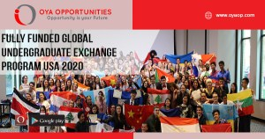 Fully Funded Global Undergraduate Exchange Program USA 2020