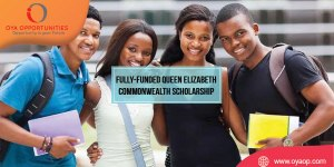 Fully-funded Queen Elizabeth Commonwealth Scholarship 2020