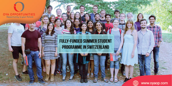Fully-funded Summer Student Programme in Switzerland