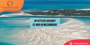 HR Officer Vacancy at WHO, Mozambique