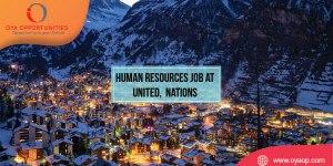 Human Resources Job at UN, Switzerland