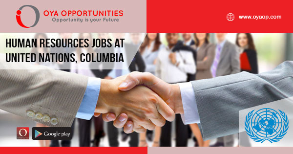 Human Resources Jobs at UN in Columbia