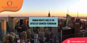 Human Rights Jobs at UN Office of Counter-Terrorism