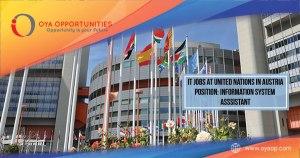 IT Jobs at United Nations, Austria