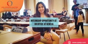 Internship Opportunity at UN Office at Geneva