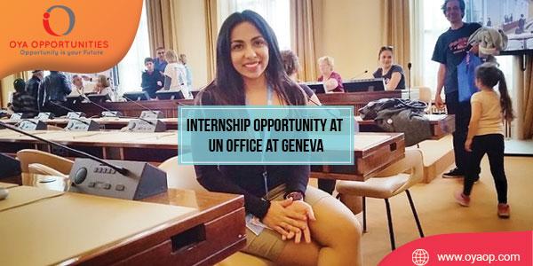 Internship Opportunity at UN Office at Geneva