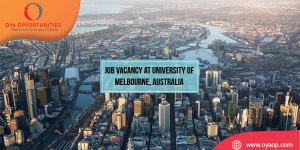 Job Vacancy at University of Melbourne