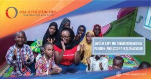 Jobs at Save the Children in Nigeria