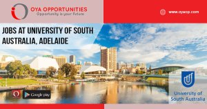 Jobs at University of South Australia