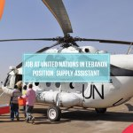 Logistic Job at United Nations in Lebanon