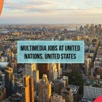 Multimedia Jobs at United Nations, United States