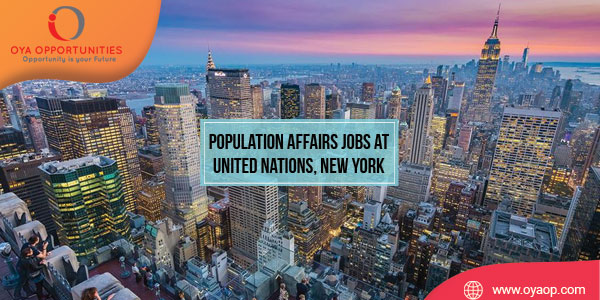Population Affairs Jobs at United Nations