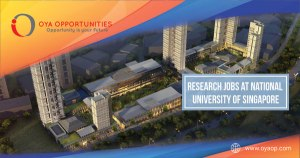 Research Jobs at National University of Singapore