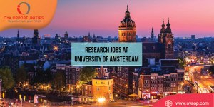 Research Jobs at University of Amsterdam