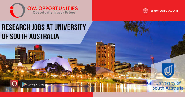 Research Jobs at University of South Australia