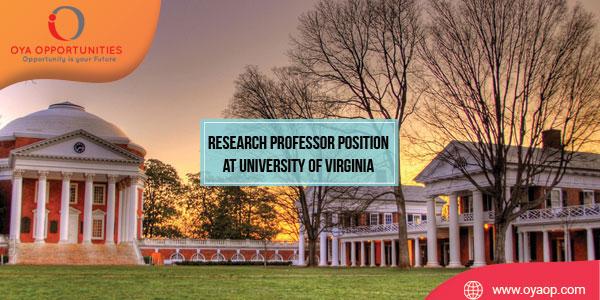 Research Professor Position at University of Virginia (Tibetan Studies)