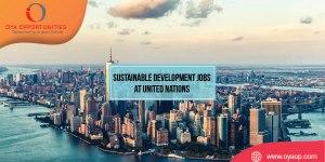 Sustainable Development Jobs at