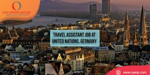 Travel Assistant Job at UN, Germany