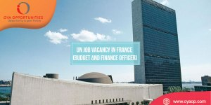 UN Job Vacancy in France (Budget and Finance Officer)