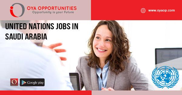 United Nations Jobs in Saudi Arabia