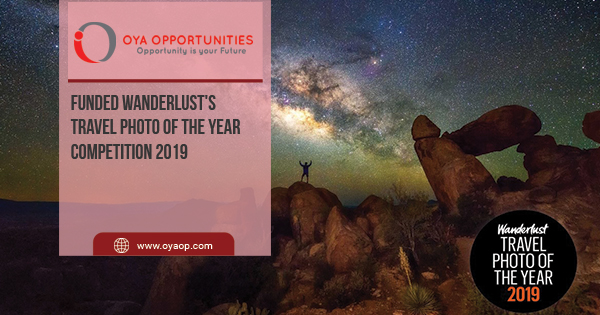 Funded Wanderlust's Travel Photo of the Year Competition 2019