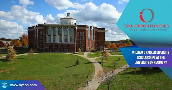 William C Parker Diversity Scholarships at the University of Kentucky