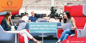 Energy Projects Mobile Charger Internship Spring 2020 at Tesla