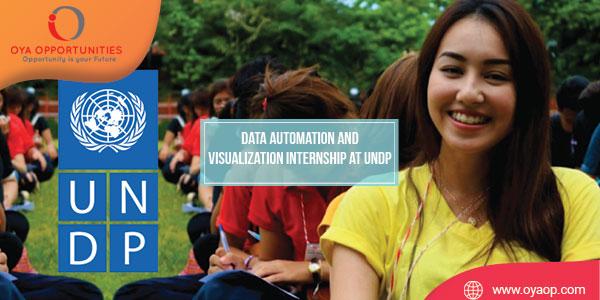 Data Automation and Visualization Internship at UNDP