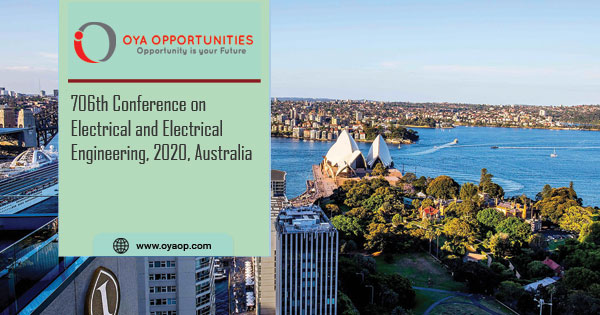 706th Conference on Electrical and Electrical Engineering, 2020, Australia