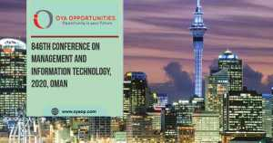 846th Conference on Management and Information Technology, Oman