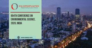 854th Conference on Environmental Science, 2020, India