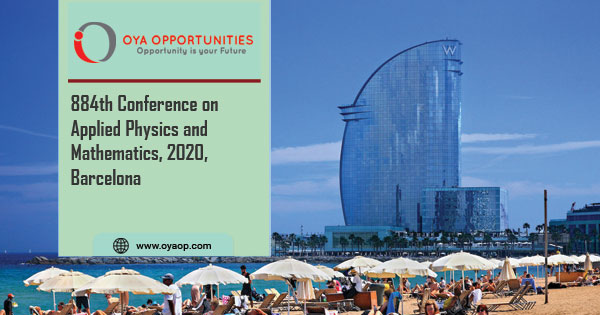 884th Conference on Physics and Mathematics, 2020, Spain