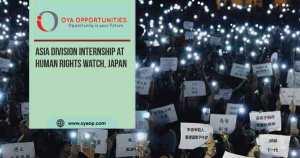 Asia Division Internship at Human Rights Watch, Japan