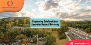 Engineering Scholarships at Australian National University (Up to 50%)