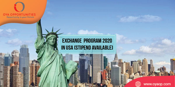 Exchange Internship Program 2020 in USA (Stipend available)