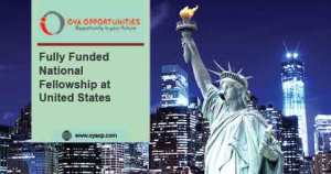 Fully Funded National Fellowship at United States