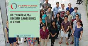 Fully-funded Vienna Biocenter Summer School in Austria