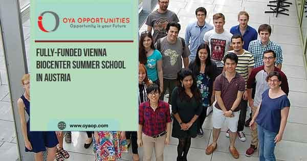 Fully-funded Vienna Biocenter Summer School in Austria