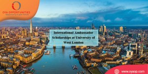 International Ambassador Scholarships at University of West London