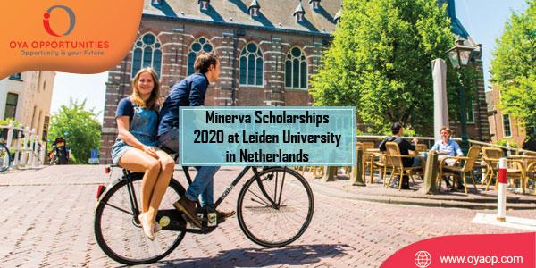 Minerva Scholarships 2020 at Leiden University in Netherlands