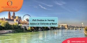 PhD Position in Nursing Science at University of Basel