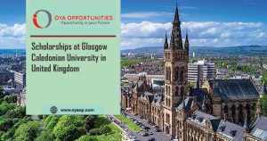 Scholarships at Glasgow Caledonian University