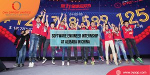 Software Engineer Internship at Alibaba in China