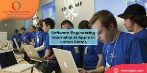 Software Engineering Internship at Apple in United States