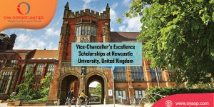 Vice-Chancellor's Excellence Scholarships at Newcastle University UK
