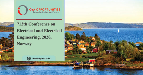 712th Conference on Electrical and Electrical Engineering, 2020, Norway