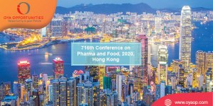 716th Conference on Pharma and Food, 2020, Hong Kong