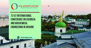 721st International Conference on Chemical and Biochemical Engineering in Ukraine